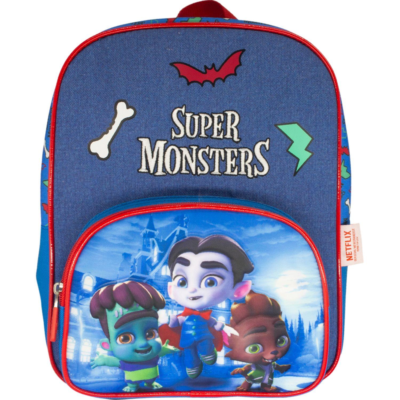 Super Monsters mochila niÑo super monsters Azul mochilas