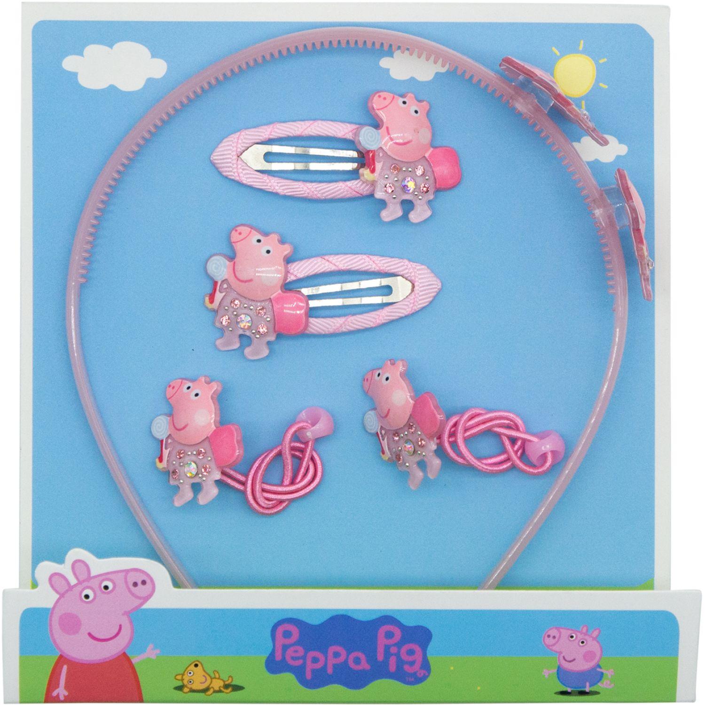 Peppa Pig Set Accesorios Cabello Peppa Pig Varios Cepillos para cabello