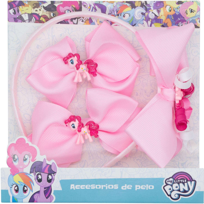 My Little Pony set accesorios cabello my little pony Varios cepillos para el cabello