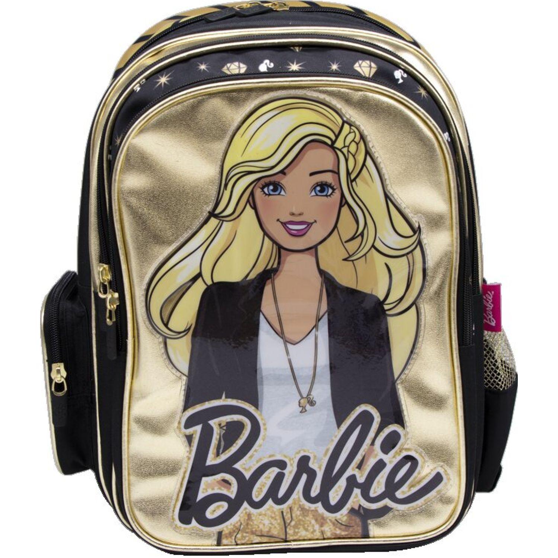 Barbie mochila niÑa barbie Dorado / negro mochilas