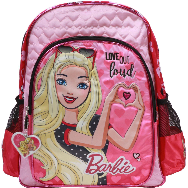 Barbie mochila niÑa barbie Fucsia / negro mochilas