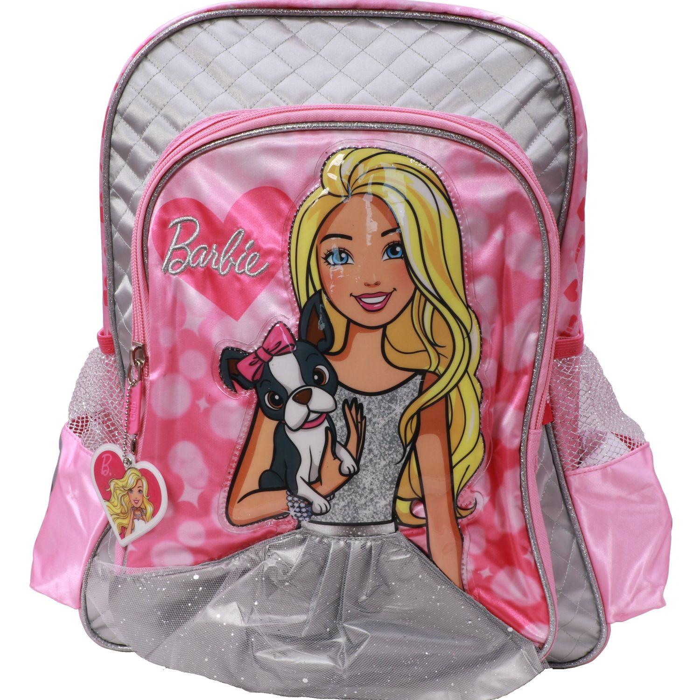 Barbie mochila niÑa barbie Rosado / Plateado mochilas