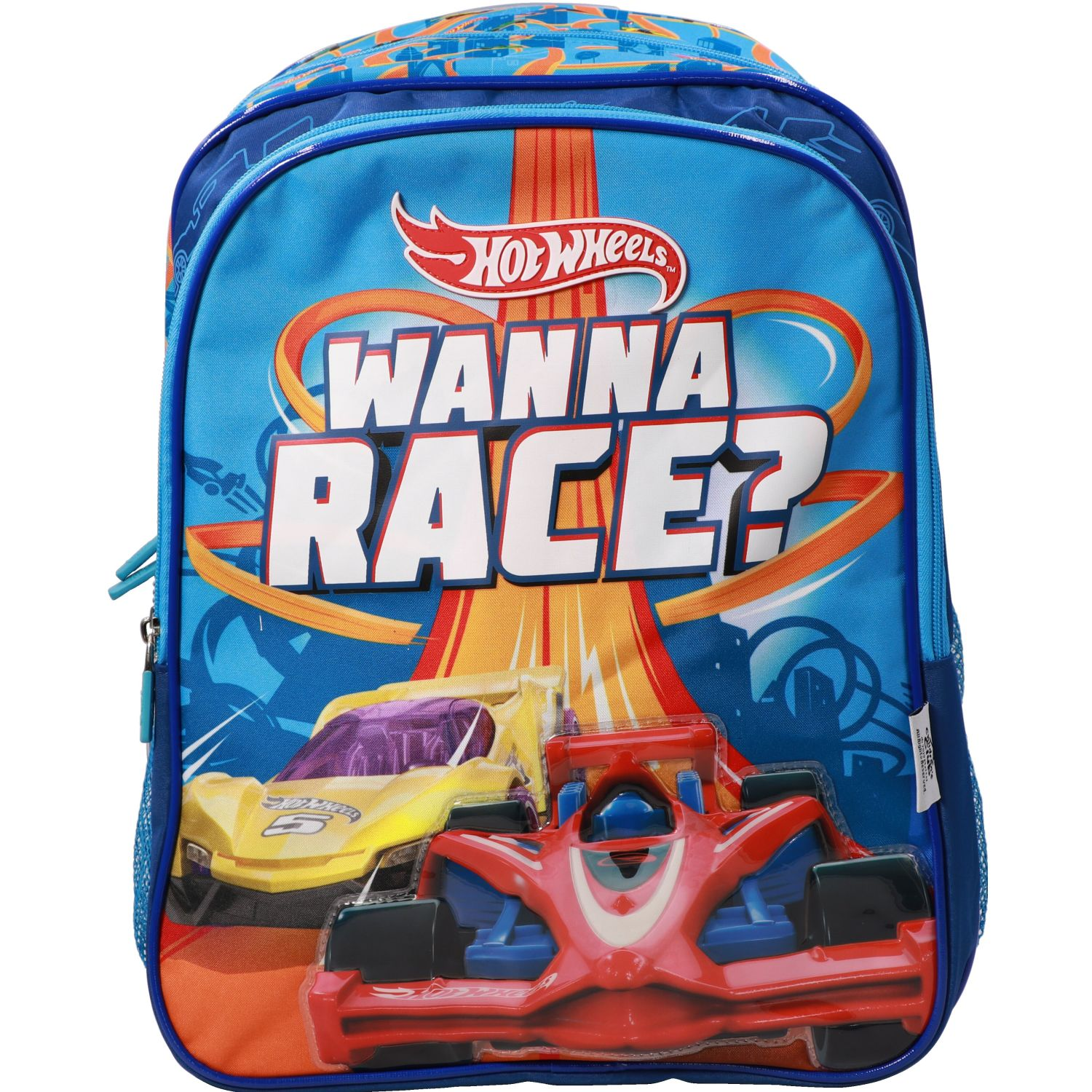 Hot Wheels mochila niÑo hot wheels Azul / naranja mochilas