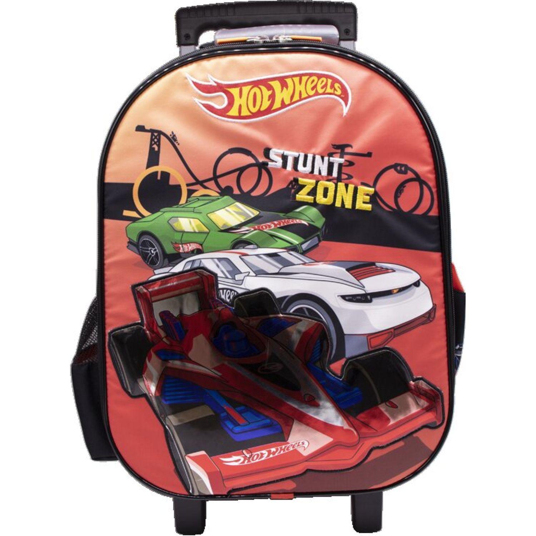 Hot Wheels Mochila Ruedas Niño Hot Wheels Rojo Maletas para niñas y niños