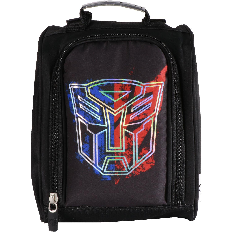 Transformers lonchera niÑo transformers Negro Loncheras