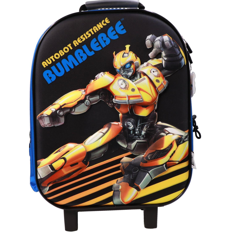 Transformers Mochila Ruedas Niño Transformes Negro / amarillo Maletas para niñas y niños