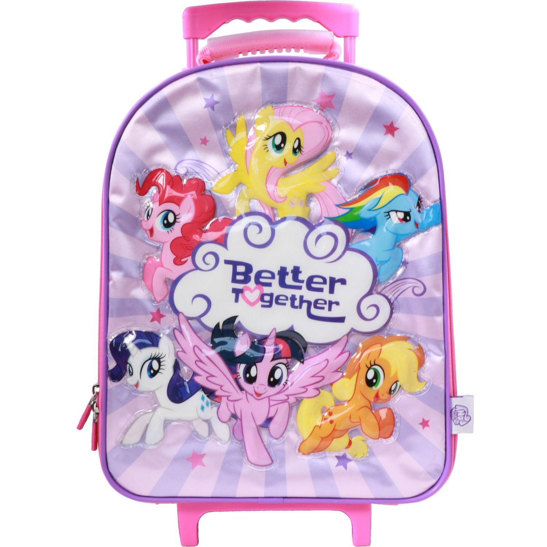My Little Pony Mochila Ruedas Niña My Little Pony ROSADO / FUCSIA Maletas para niñas y niños