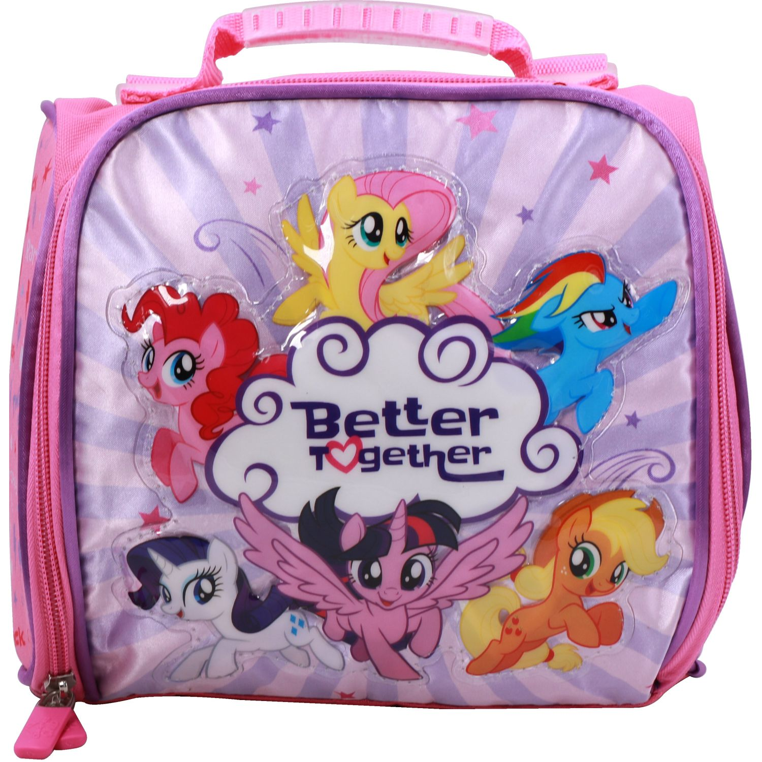 My Little Pony LONCHERA NIÑA MY LITTLE PONY ROSADO / FUCSIA Loncheras