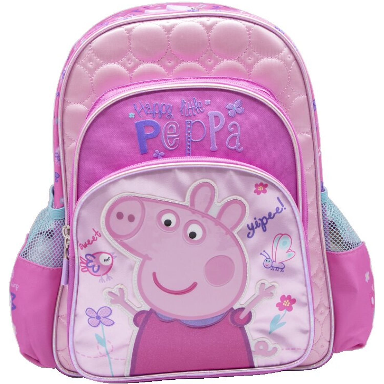 Peppa Pig mochila niÑa peppa pig Rosado / celeste mochilas