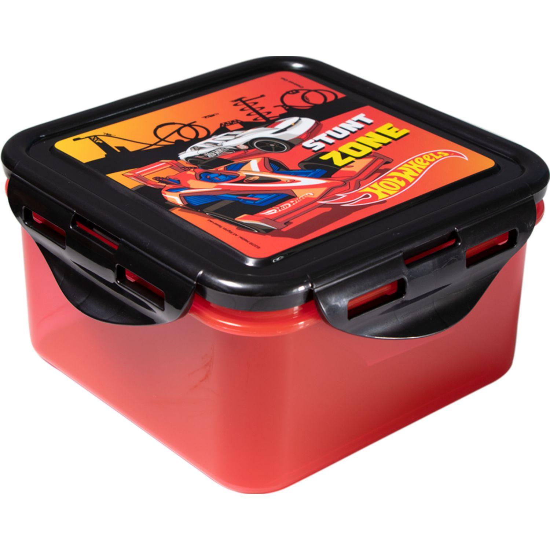 Hot Wheels Tapers Niño Hot Wheels Rojo / negro Sets de almacenamiento y organización de alimentos