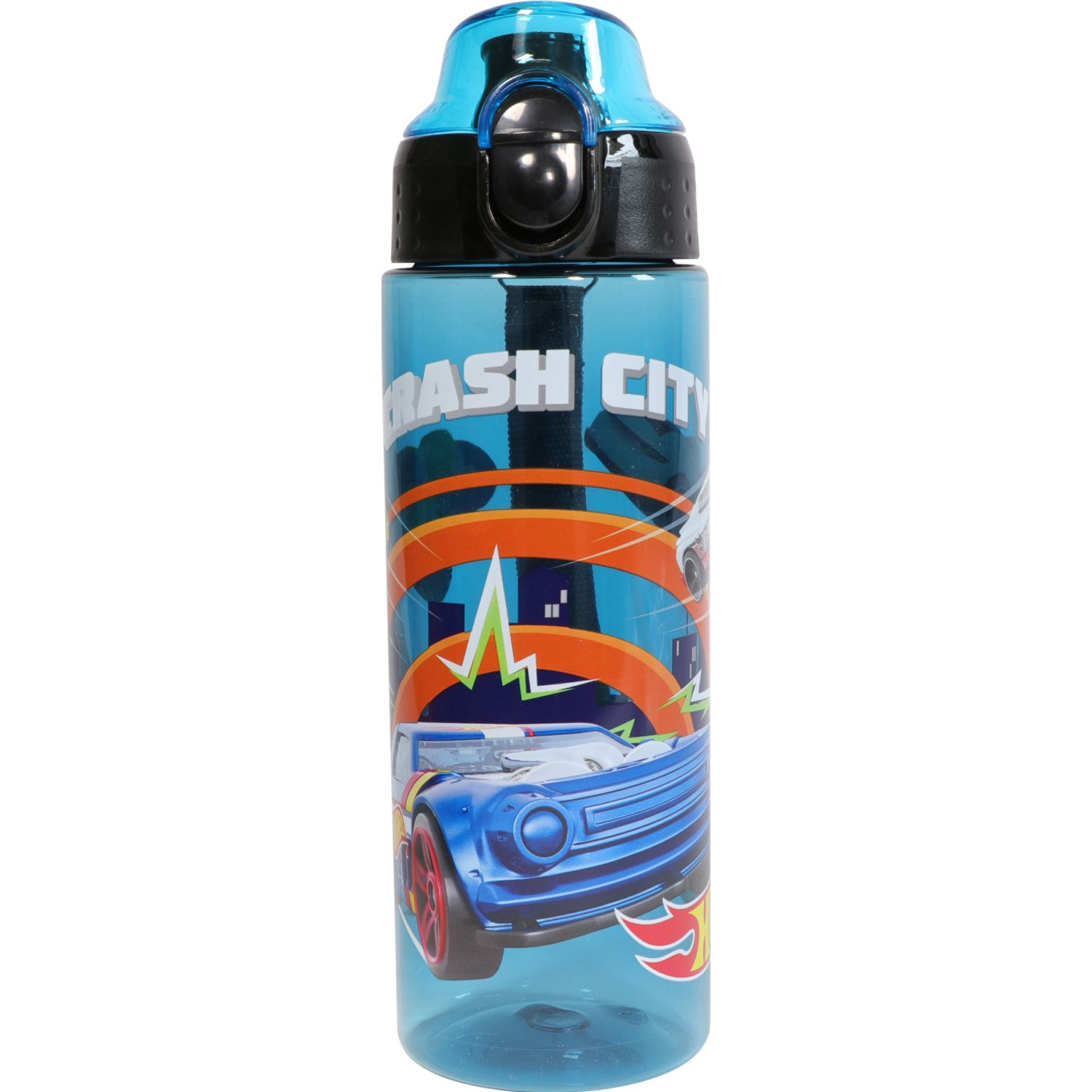 Hot Wheels 6htwvbo1a19 Azul Botellas de Agua