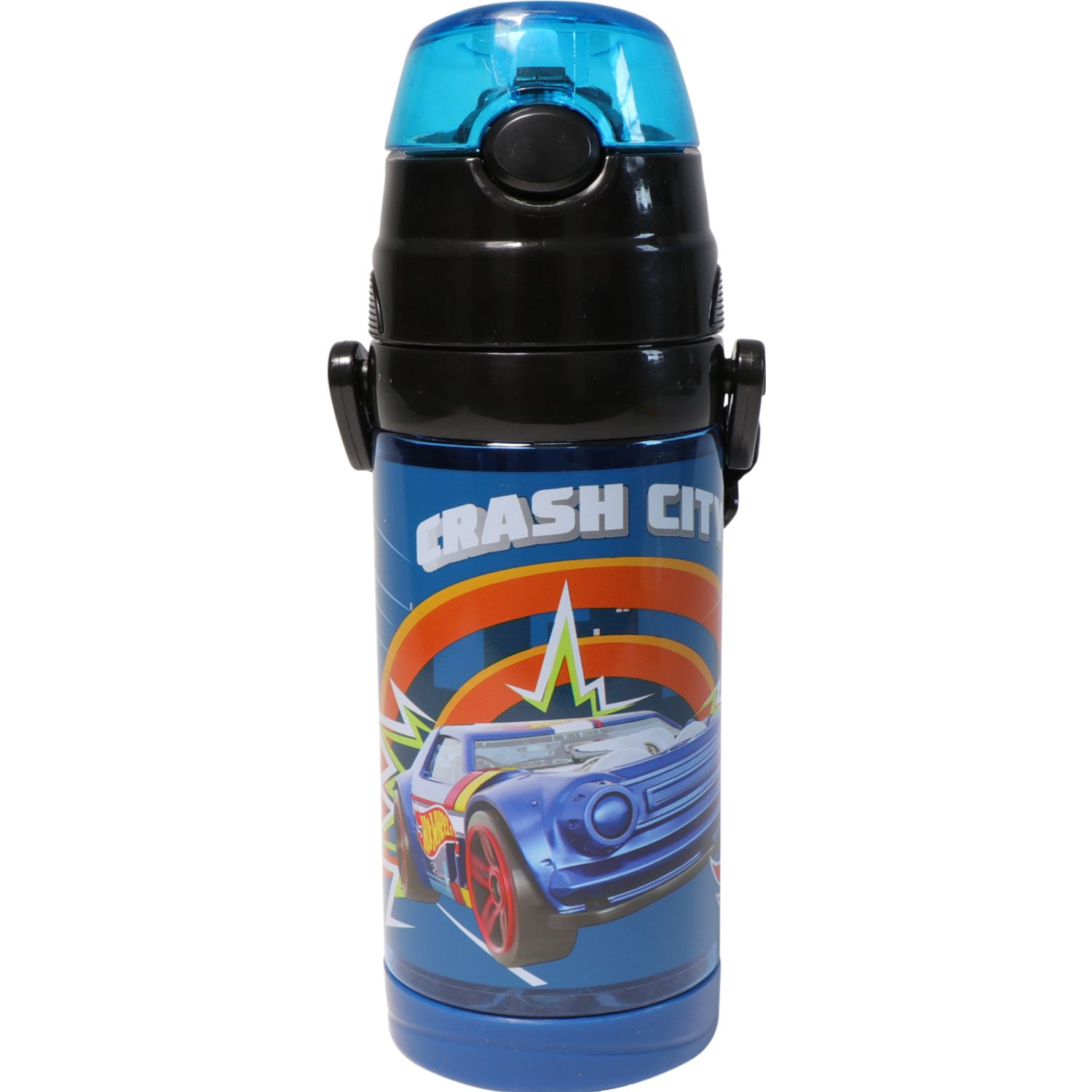 Hot Wheels 6htwvbo2a19 Azul Botellas de Agua