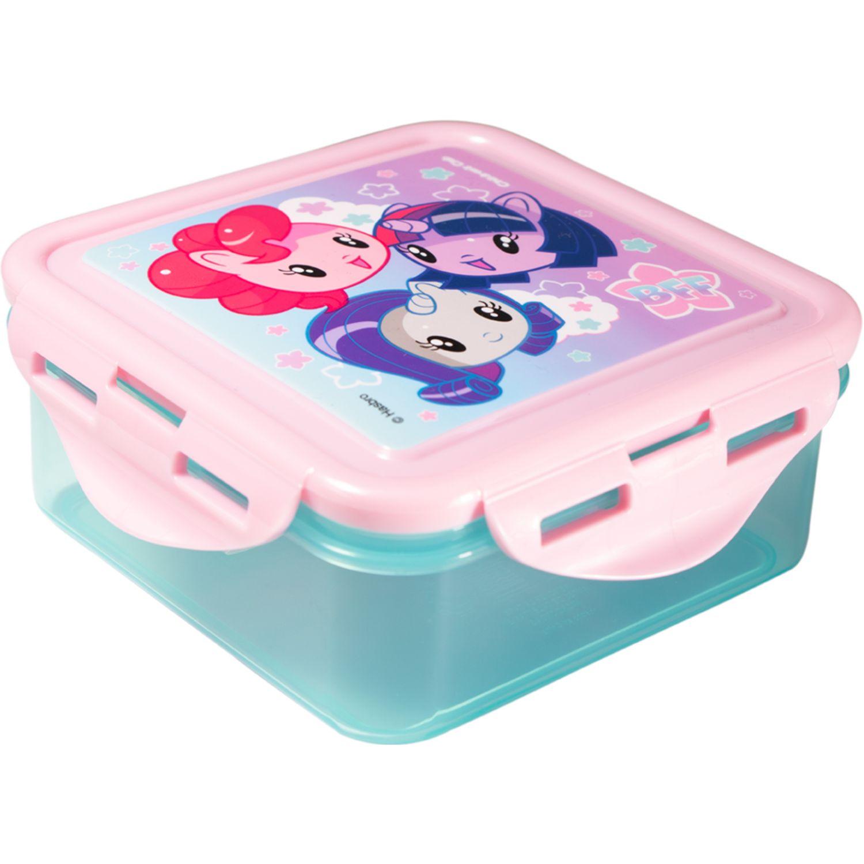 My Little Pony Tapers Niña My Little Pony Rosado / celeste Sets de almacenamiento y organización de alimentos
