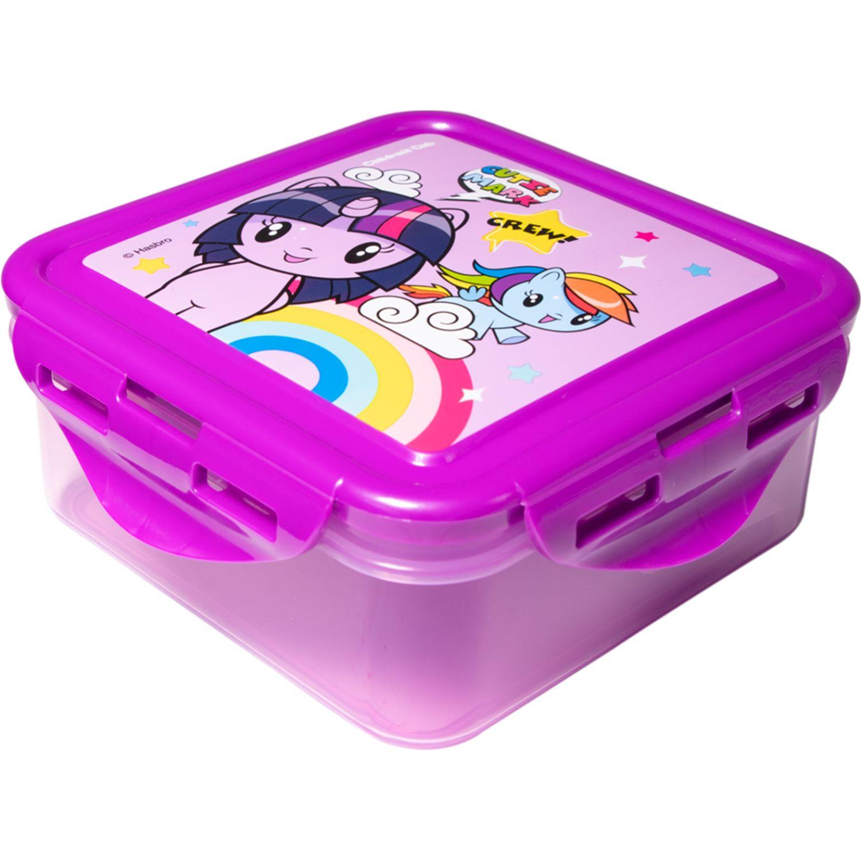 My Little Pony Tapers Niña My Little Pony Rosado / morado Sets de almacenamiento y organización de alimentos