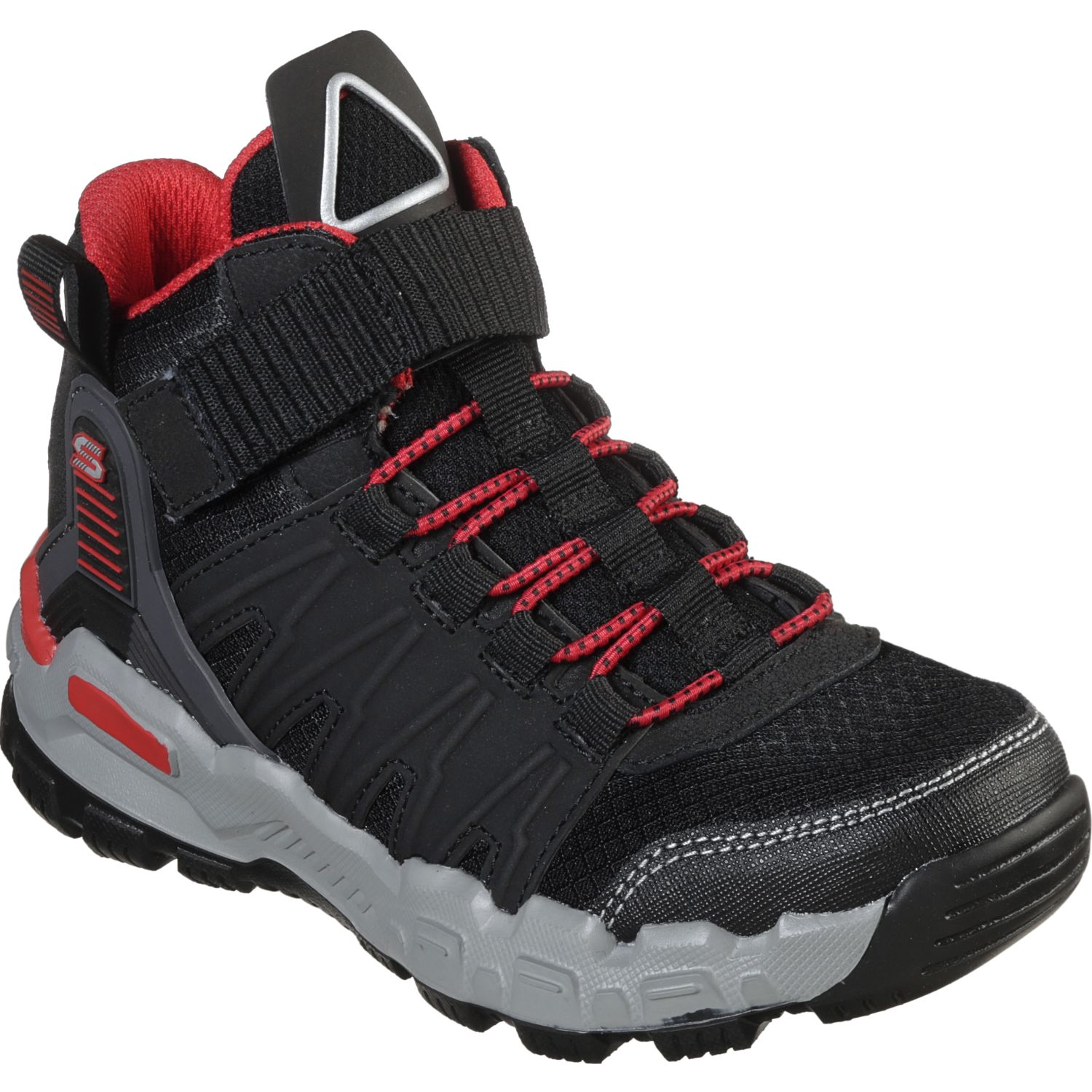 Skechers adventure track - geo quest Negro / rojo Walking