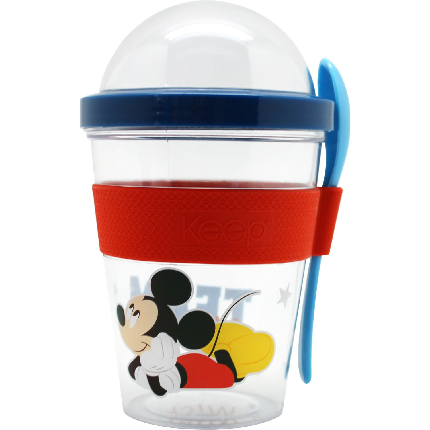Mickey vaso to go 450ml mickey Azul / rojo Vasos