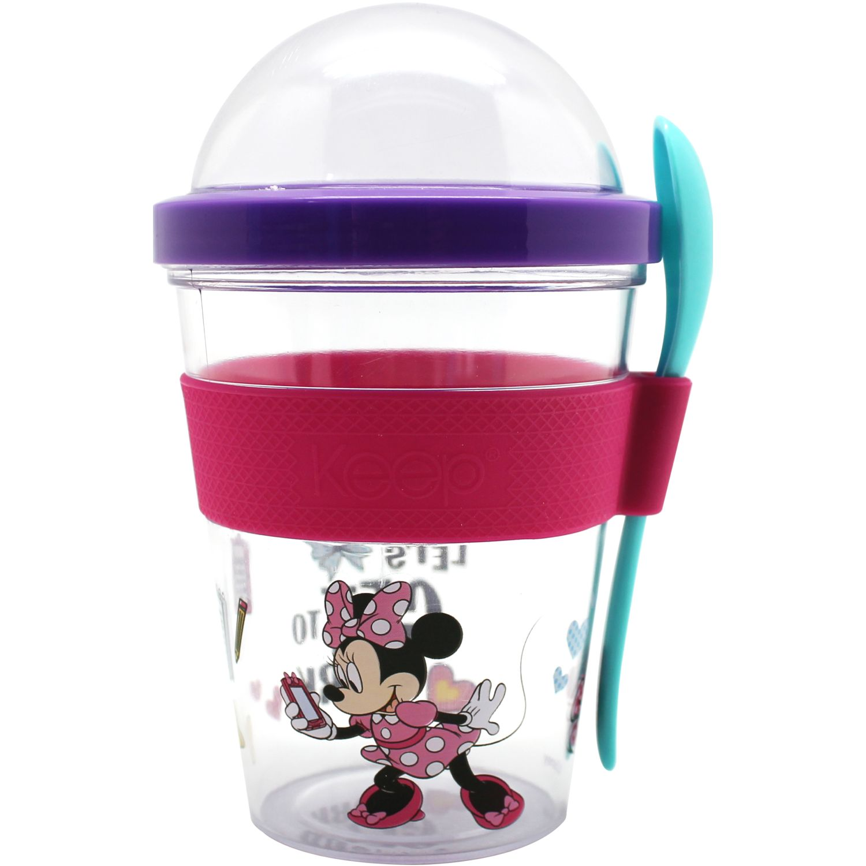 Vasos de Mujer Minnie Morado / fucsia vaso to go 450ml minnie