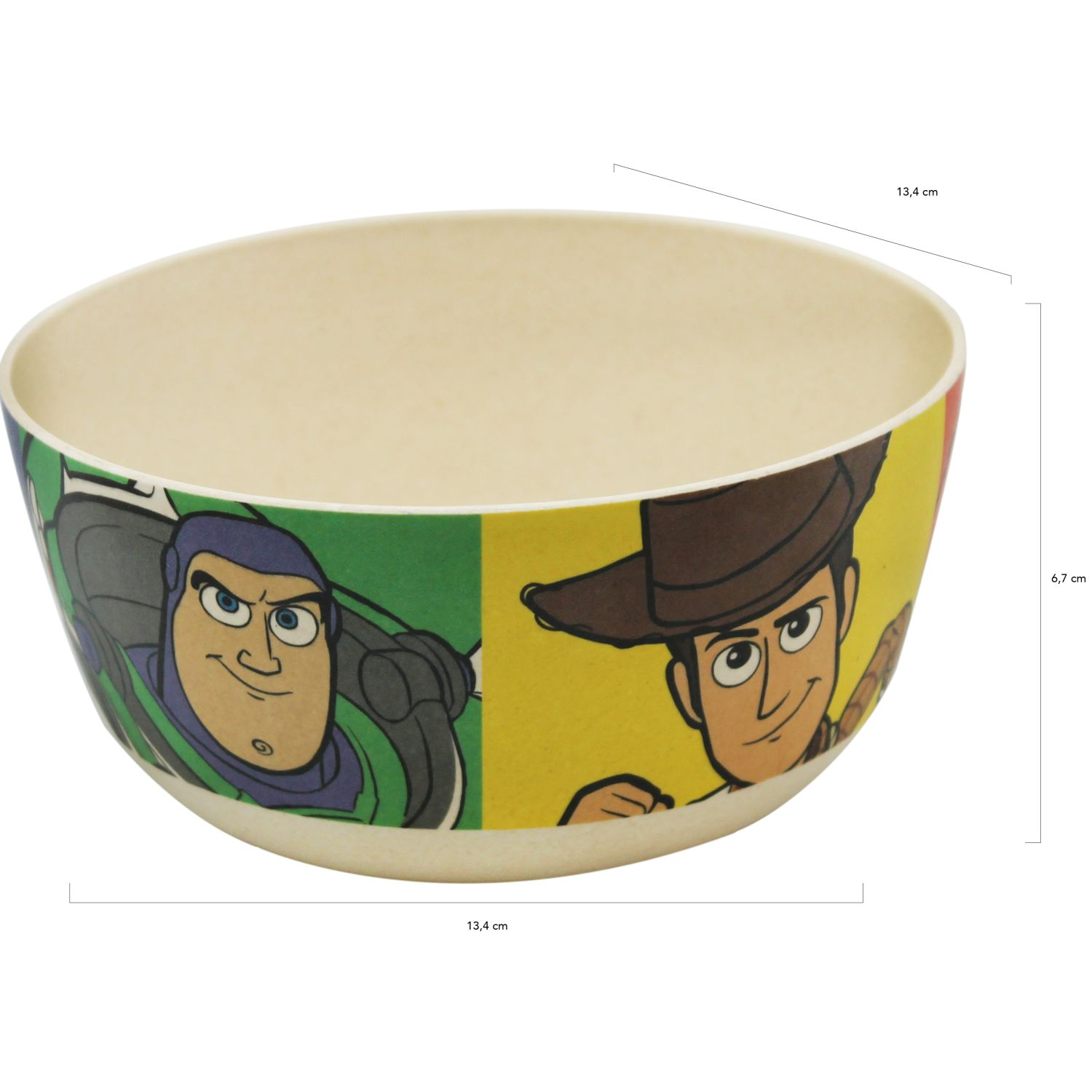 Toy Story Verde / amarillo bowl bamboo toy story 4