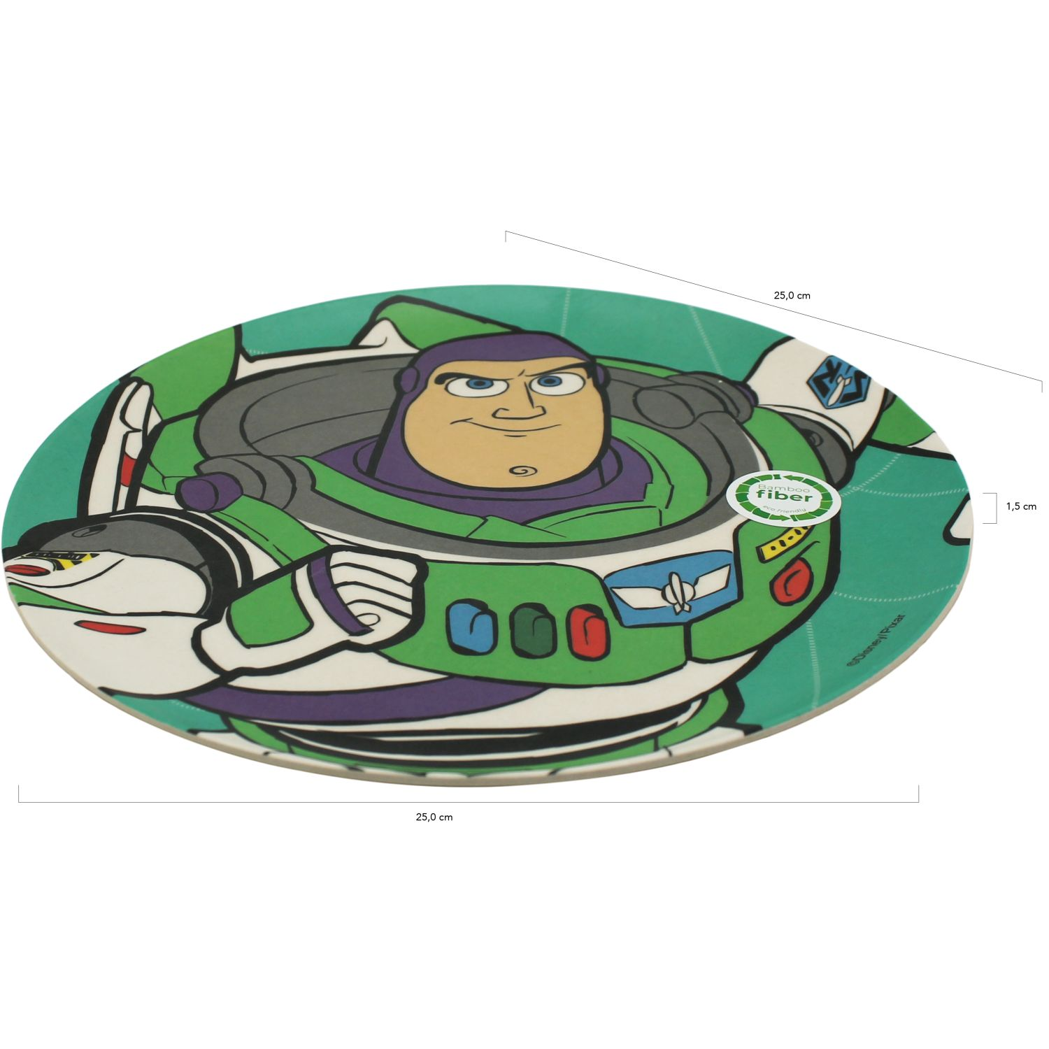 Toy Story Verde plato bamboo toy story 4