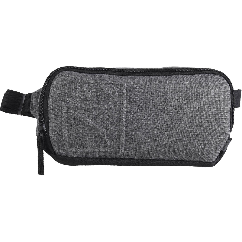 Puma puma s waist bag Gris / negro Canguros