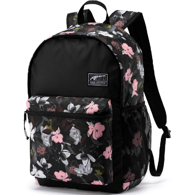 Puma puma academy backpack Negro / rosado Mochilas Multipropósitos