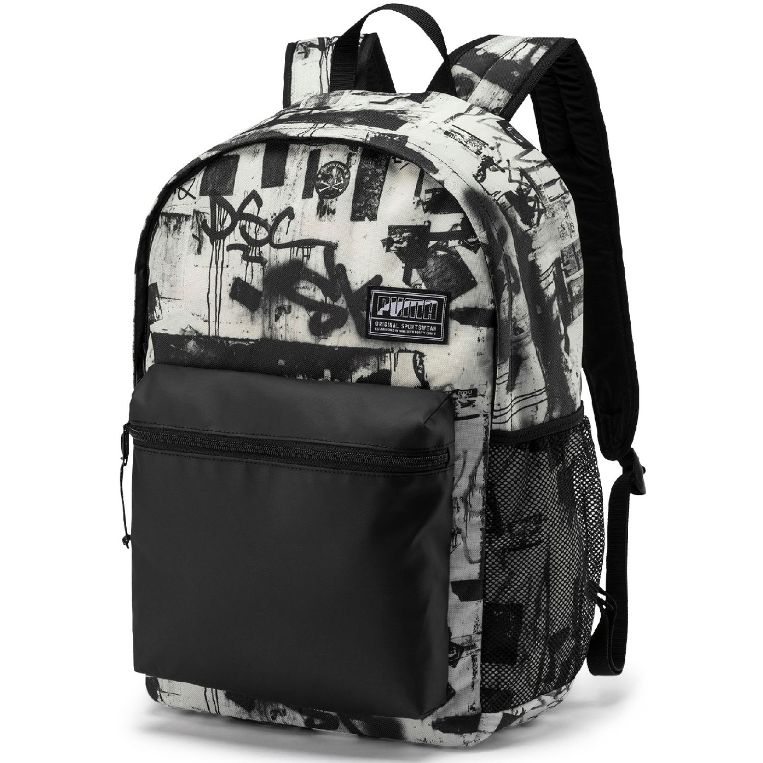 Puma puma academy backpack Blanco / negro Mochilas Multipropósitos