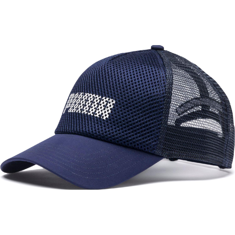 Puma puma trucker cap Azul / blanco Gorros de Baseball