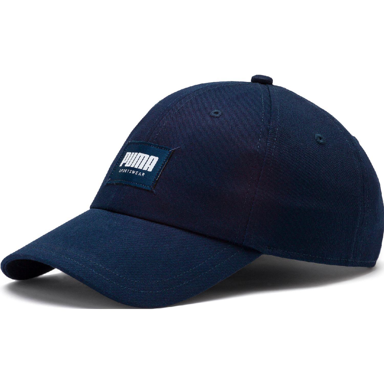 Puma style fabric cap Azul / blanco Gorros de Baseball