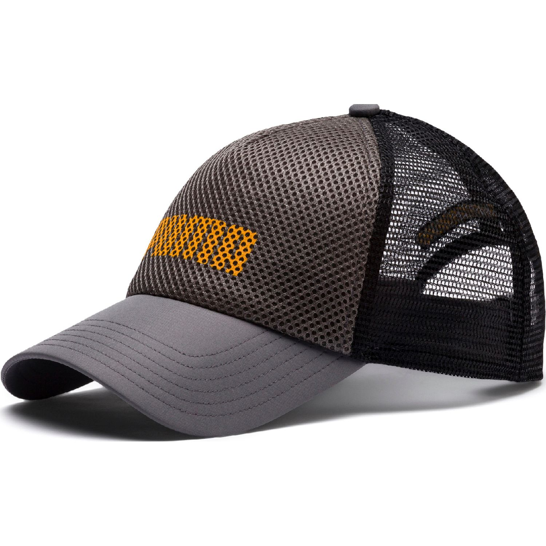 Puma puma trucker cap Gris / amarillo Sombreros y gorras