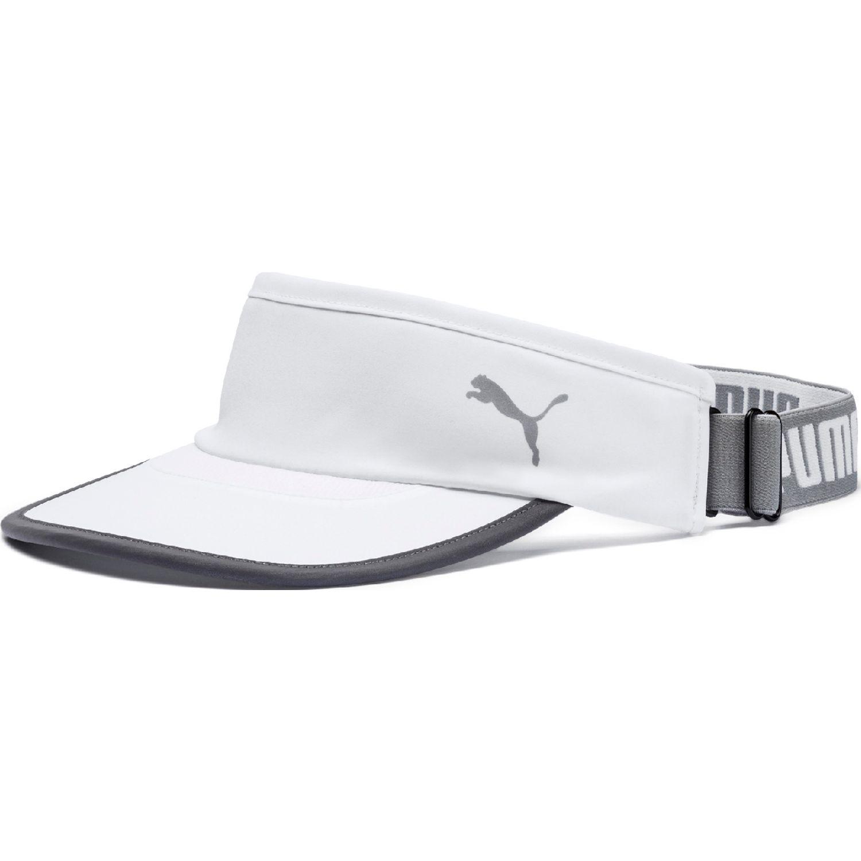 Puma puma running visor Blanco / gris Visores
