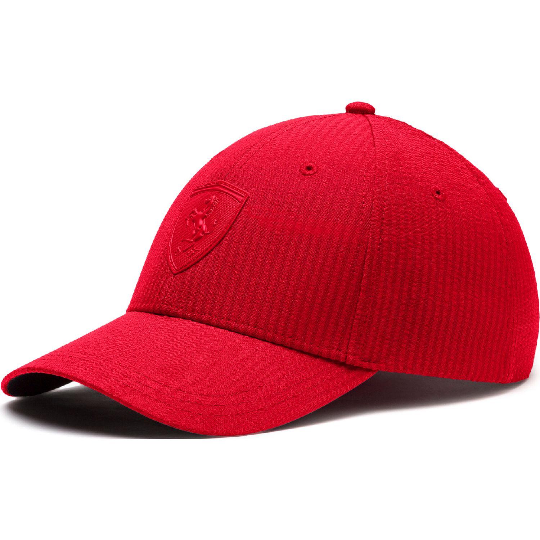Puma sf ls  baseball cap Rojo Gorros de Baseball