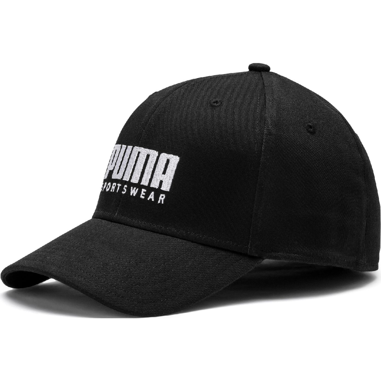 Puma stretchfit bb cap Negro / blanco Gorros de Baseball