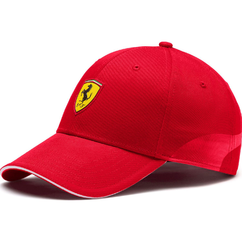 Puma sf fanwear baseball cap Rojo / amarillo Gorros de Baseball