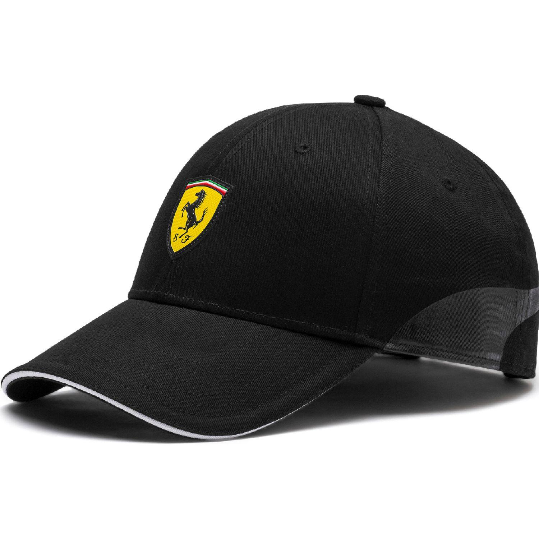 Puma sf fanwear baseball cap Negro / amarillo Gorros de Baseball