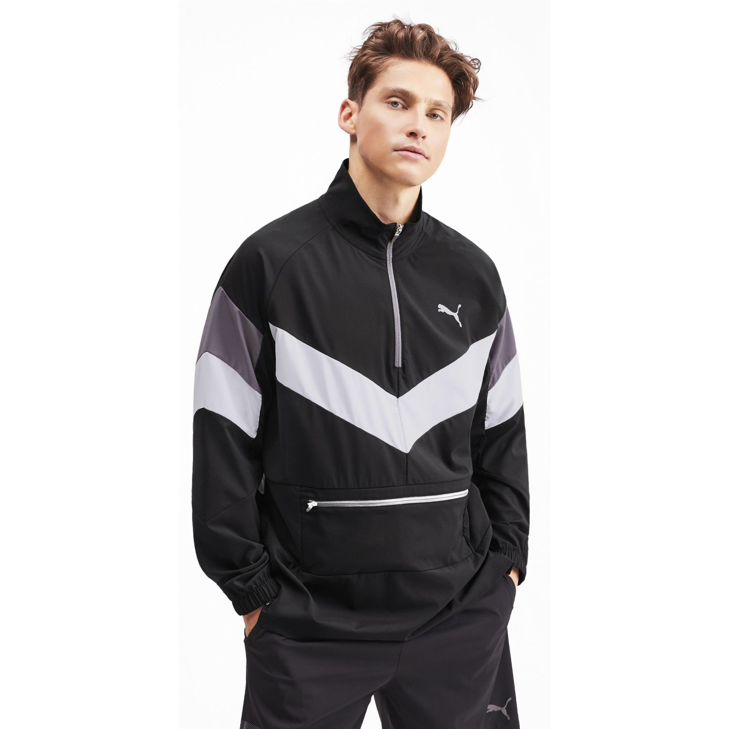 Puma reactive packable jacket Negro / blanco Plumas y alternos