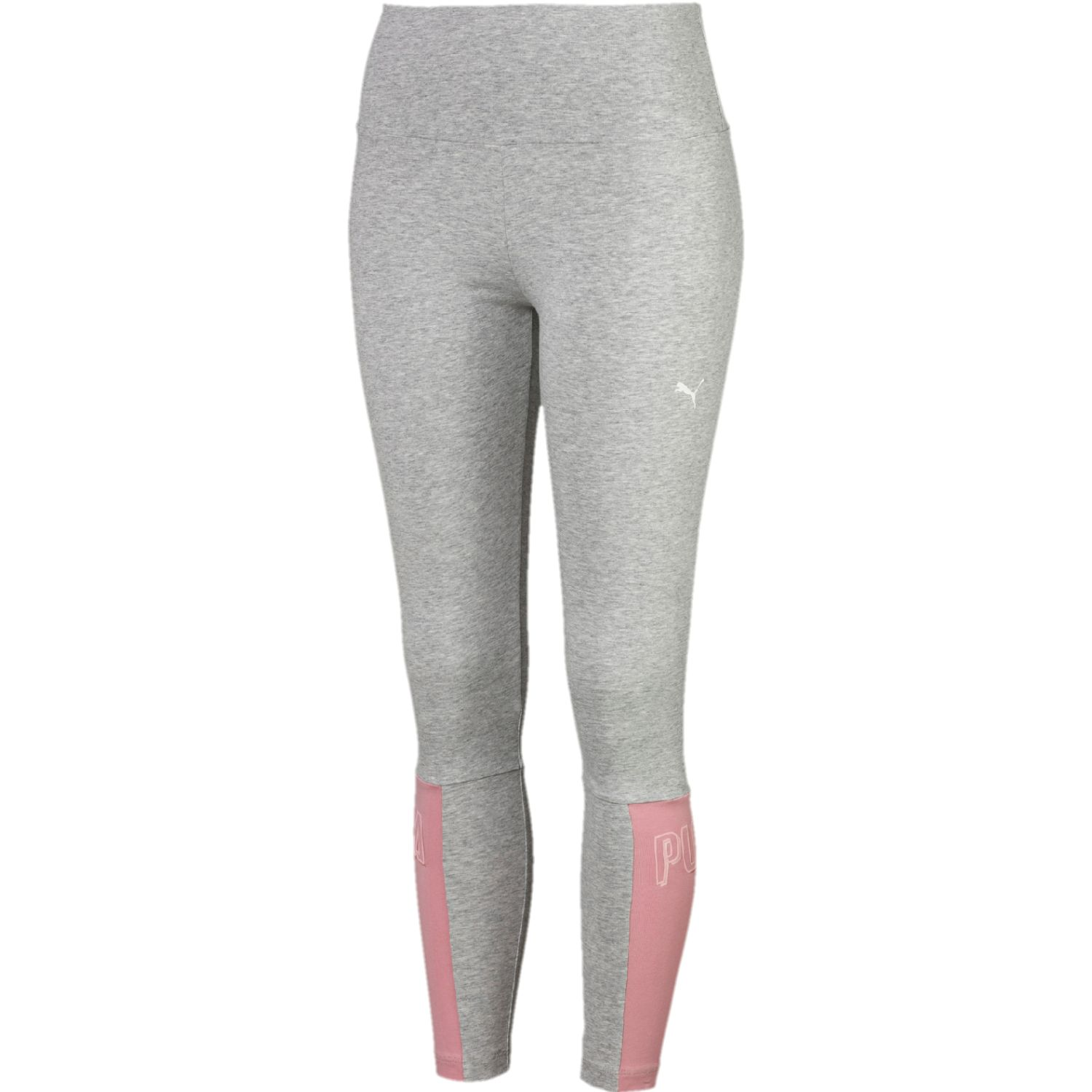 Puma athletics 7'8 graphic leggings Gris / rosado Leggings Deportivos