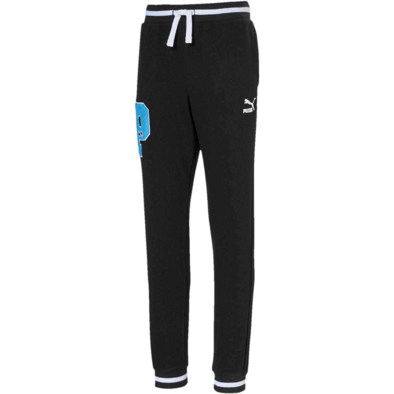 Puma sesame street sweat pants tr b Negro / celeste Pantalones