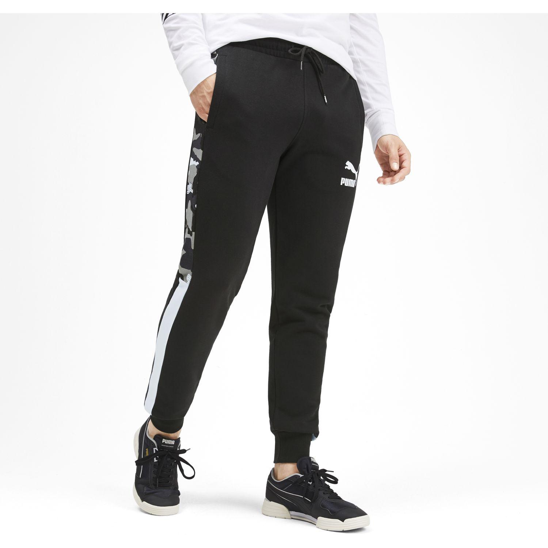 Puma t7 track pants aop tr Negro / blanco Pantalones Deportivos