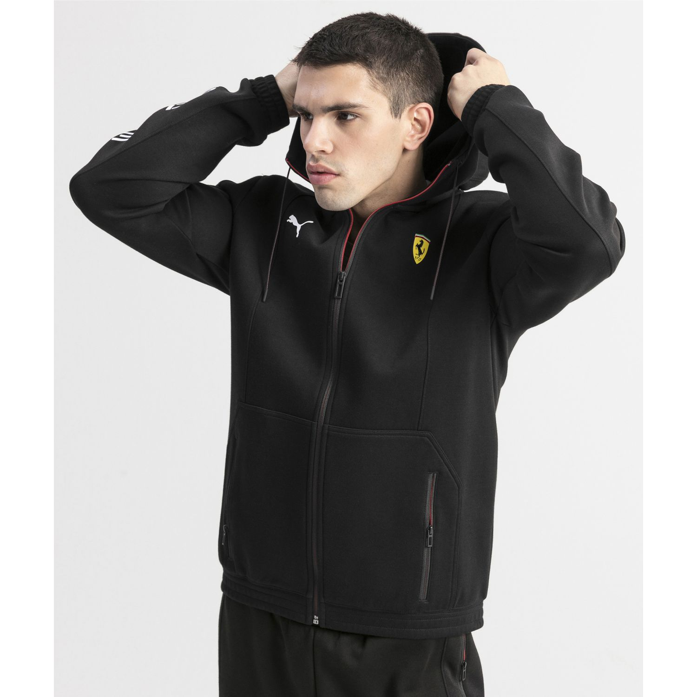 Puma sf hooded sweat jacket Negro Hoodies y Sweaters Fashion