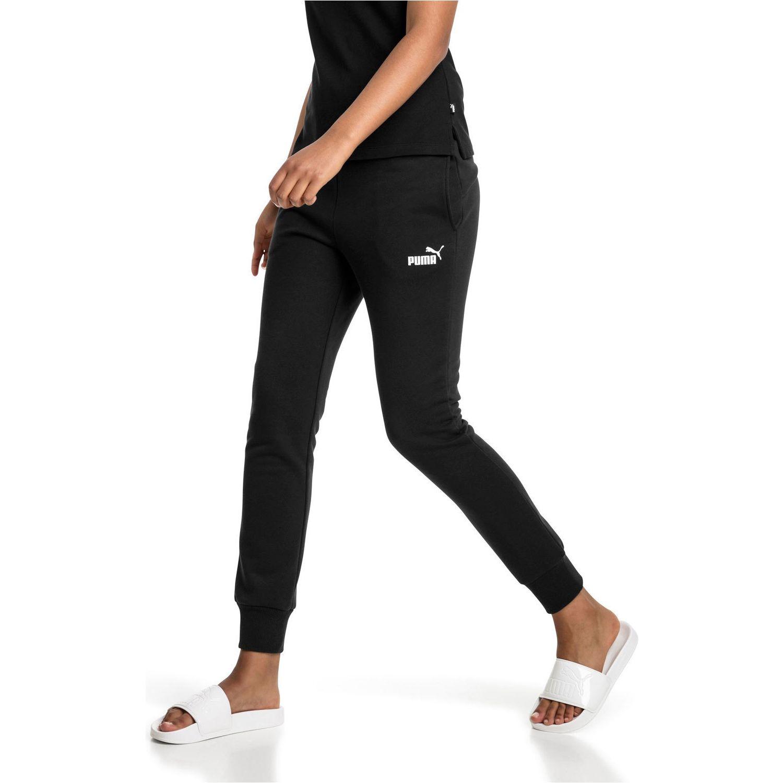Puma ess sweat pants fl cl Negro / blanco Pantalones Deportivos