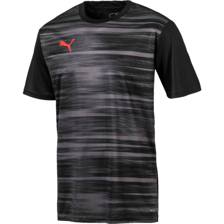 Puma ftblnxt graphic shirt core Negro / plomo Camisetas y Polos Deportivos