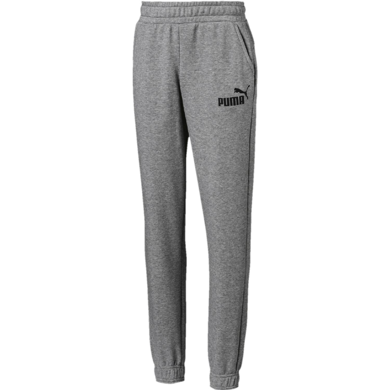 Puma ess logo sweat pants tr cl b Gris / negro Pantalones