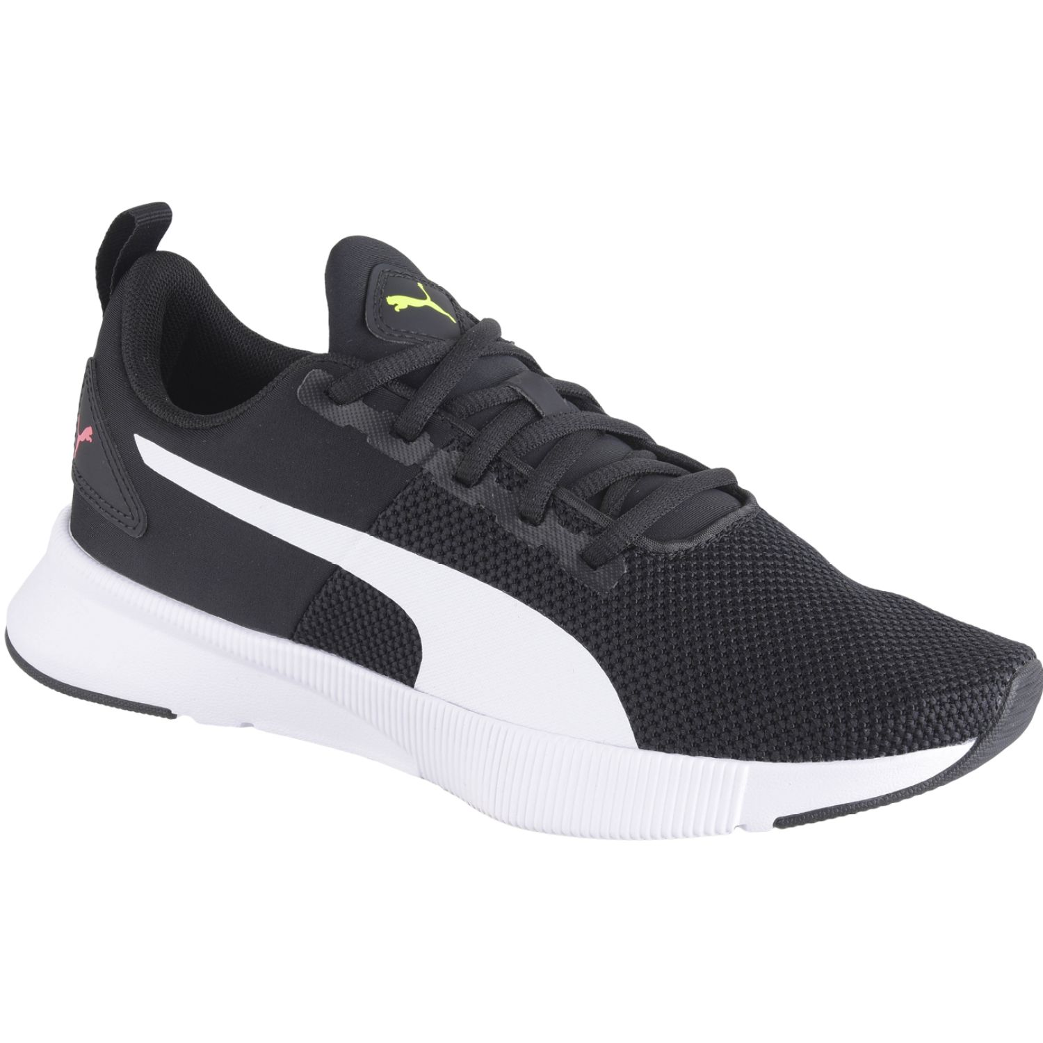 Puma FLYER RUNNER Negro / blanco Chicas