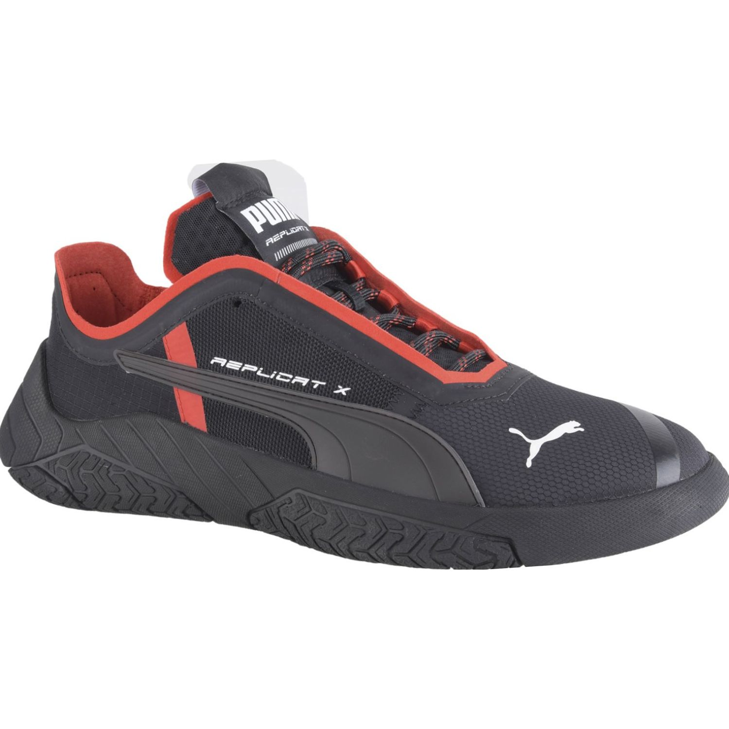 Puma replicat-x circuit Negro / rojo Walking