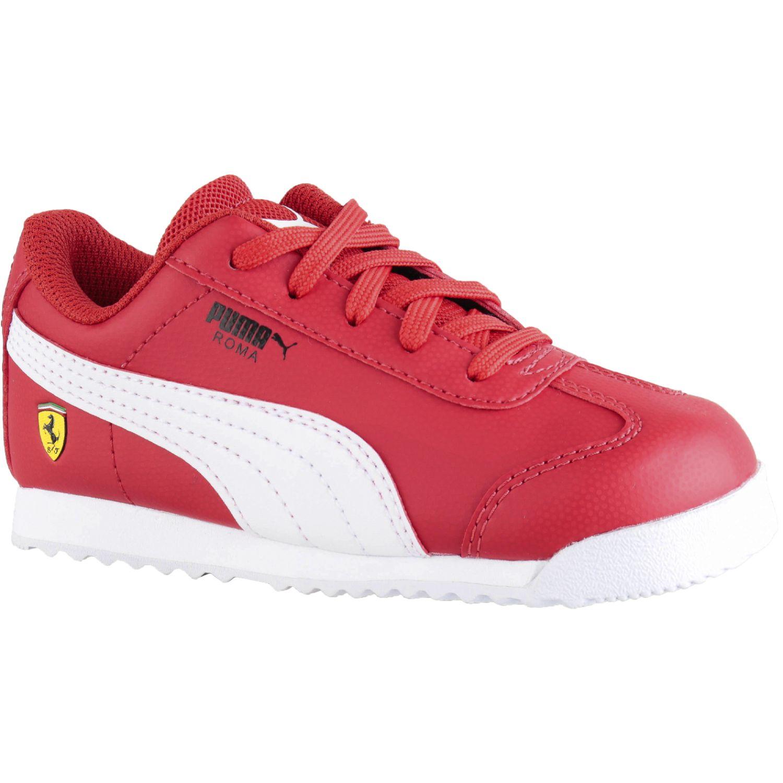 Puma sf roma inf Rojo / blanco Walking