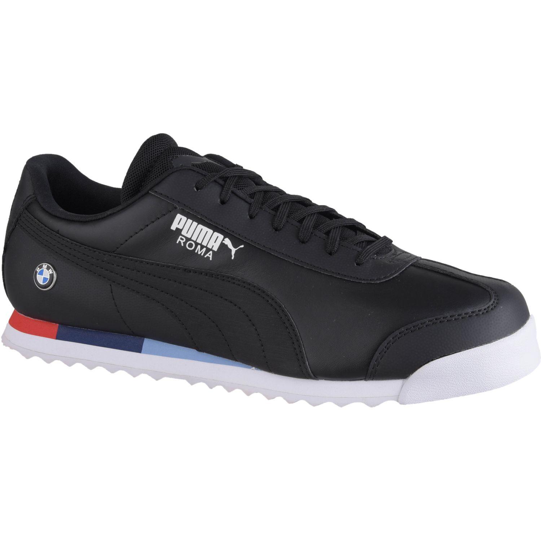 Puma BMW MMS Roma Negro / blanco Walking | platanitos.com