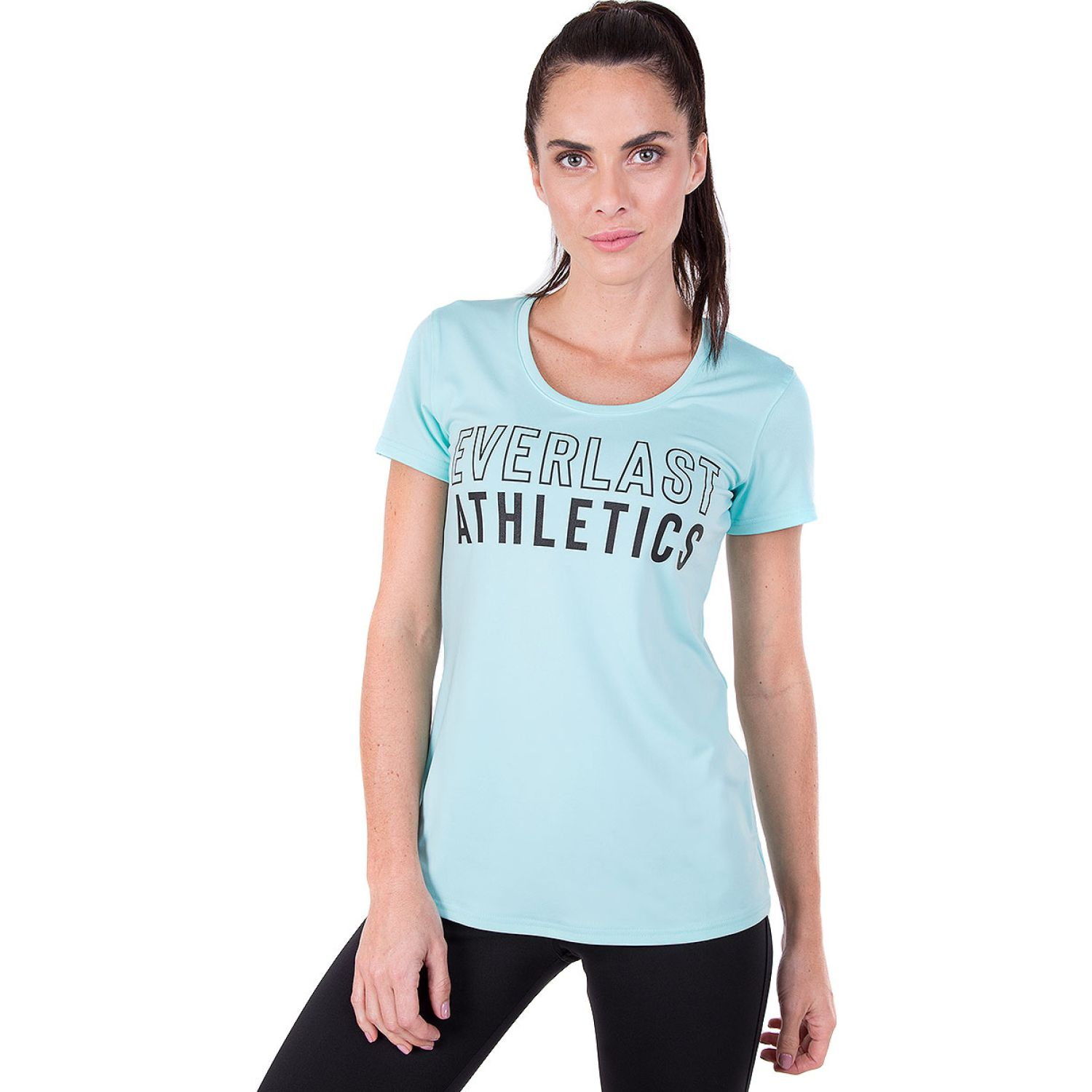 Everlast Polera M/C Clear Two Menta Polos