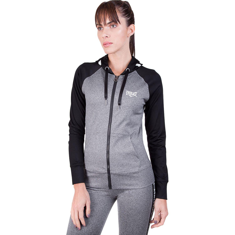 Everlast chaqueta ray charcoal Plomo / negro Hoodies Deportivos