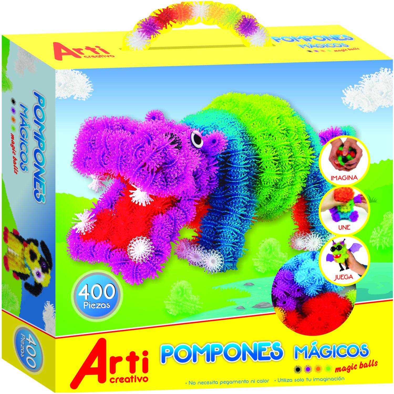 Arti Creativo Pompones Mágicos Varios Habilidades básicas