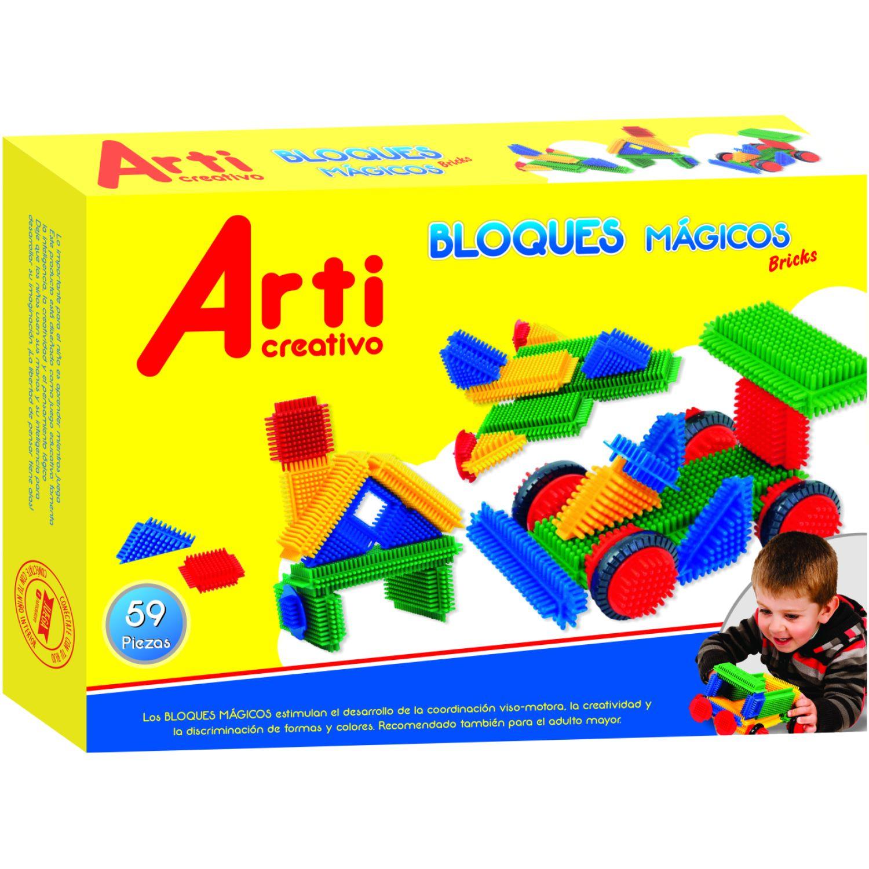 Arti Creativo Bloques Mágicos Bricks Varios Habilidades Básicas